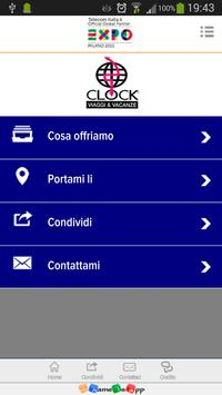 Clock Viaggi poster