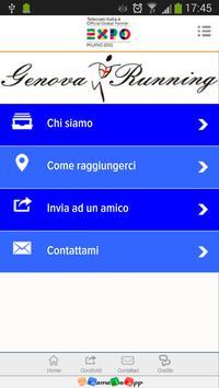 Genova Running poster