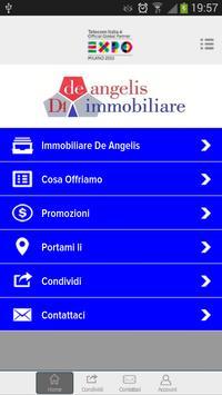 Immobiliare De Angelis poster