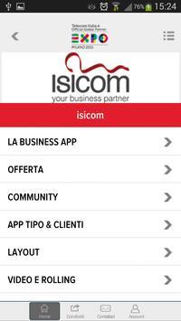 Isicom apk screenshot