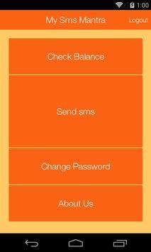 My sms Mantra apk screenshot