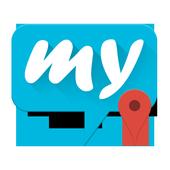 mysms – GPS Location Sharing icon