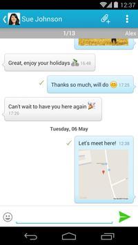 mysms – GPS Location Sharing apk screenshot
