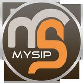 MySip icon