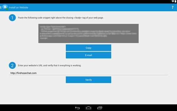 Firehose Chat apk screenshot