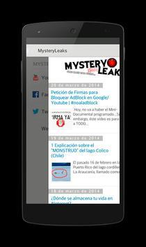 MysteryLeaks poster