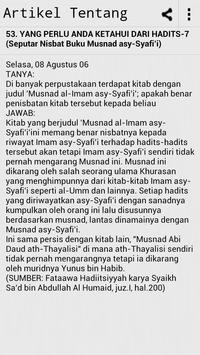 Artikel Tentang Hadith Melayu apk screenshot