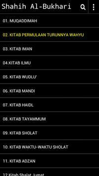 Sahih Al Bukhari - Melayu Book apk screenshot
