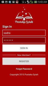 Pustaka Syiah apk screenshot