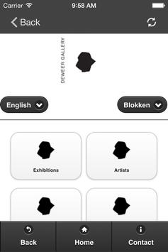 Deweer Gallery apk screenshot