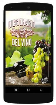 Diccionario del Vino poster