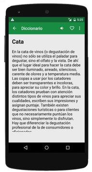 Diccionario del Vino apk screenshot