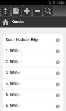 Kudsi Hadisler apk screenshot