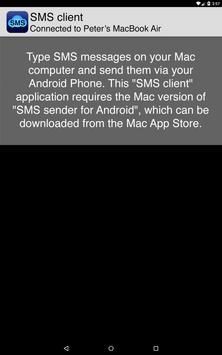 SMS client apk screenshot