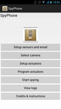 SpyPhone 1.0 poster