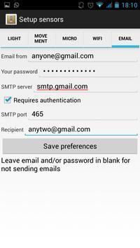 SpyPhone 1.0 apk screenshot