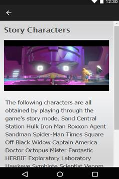 Guide for LEGO Marvel Heroes apk screenshot