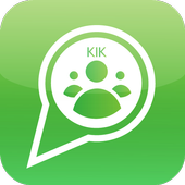 Video chat for kik icon
