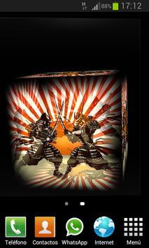 Samurai 3D LWP apk screenshot