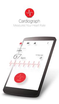 Cardiograph - Heart Rate Meter poster