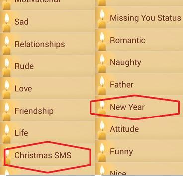 Happy New Year SMS 2017 apk screenshot