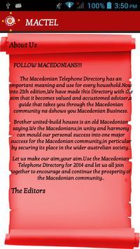 MACEDONIAN TELEPHONE DIRECTORY apk screenshot