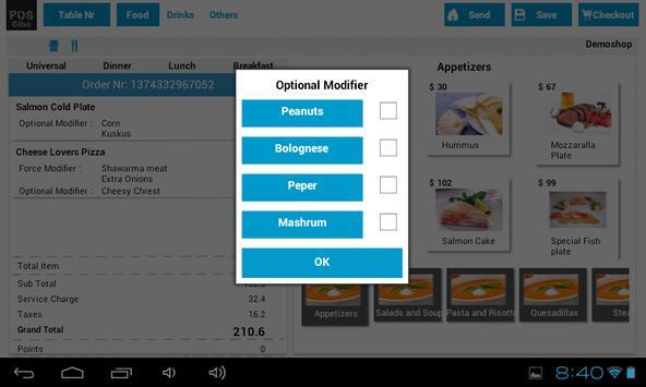 POS apk screenshot