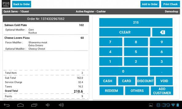POS Cibo Plus apk screenshot