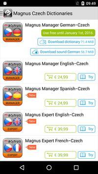 Překladové slovníky Magnus poster