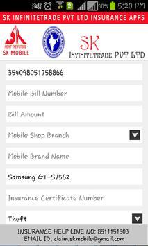 SK Mobile Insurance apk screenshot