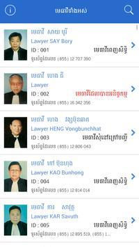 Directory of Lawyers Cambodia poster