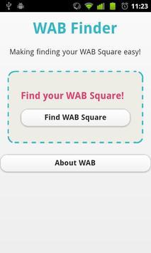 WAB Finder poster