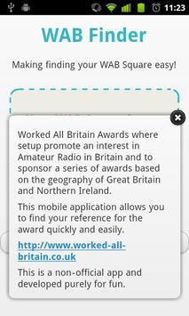 WAB Finder apk screenshot