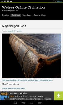 Wicca Magick Book of Shadows poster