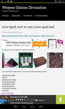 Wicca Magick Book of Shadows apk screenshot