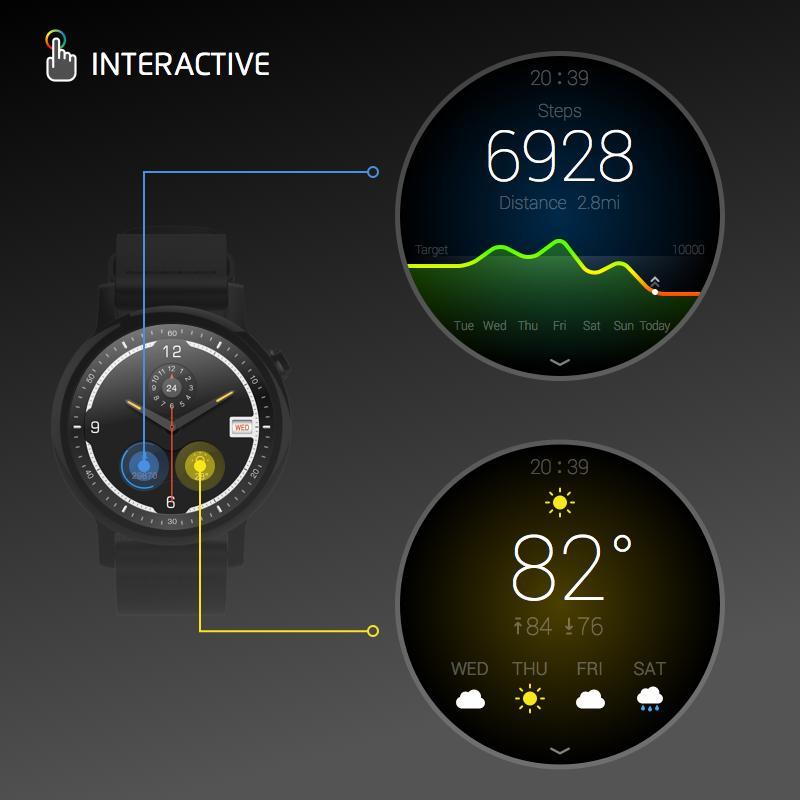 Watch Face -Ticker-Interactive APK Download