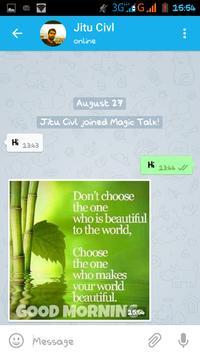 Magic Talk apk screenshot