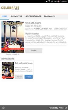 Celebrate Jakarta poster