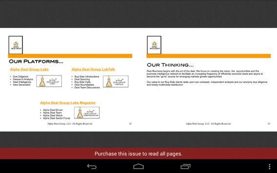 Alpha Deal Group Labs apk screenshot
