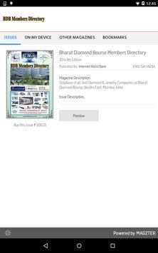 Bharat Diamond Bourse Members poster