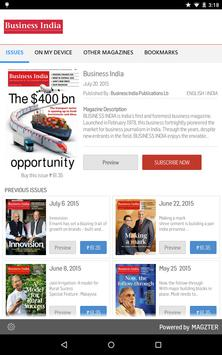 Business India poster