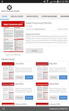 Global Transmission Monthly poster