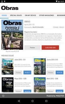 OBRAS poster