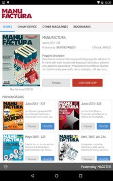 MANUFACTURA poster