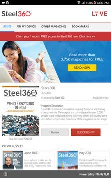 Steel 360 poster