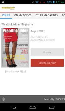 Wealth Ladder Magazine poster