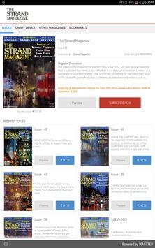 The Strand Magazine poster