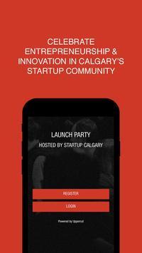 Startup Calgary poster