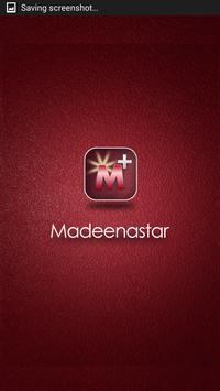 MadeenaStar + poster