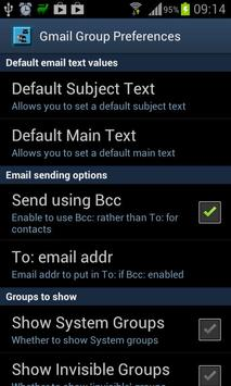 Group Share for Gmail (Free) apk screenshot